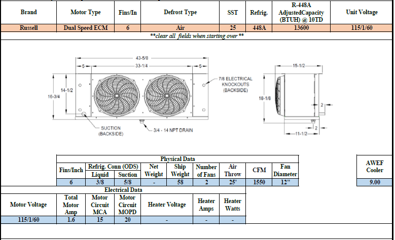 uc specifications